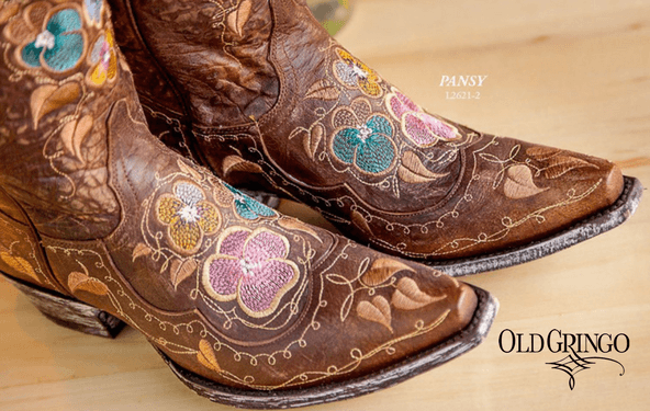 Git your giddy-up at Casa Authentique. Old Gringo boots.